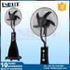 Ventilador de refrigeração de controle remoto do ar do ventilador relativo à promoção da névoa da água de 16 polegadas