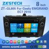 Automobile DVD dello schermo di tocco di BACCANO di Zestech due per Geely Emgrand Ec7 2014