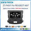 Lecteur DVD du véhicule Wince6.0 pour Peugeot 4007 avec l'écart-type GPS