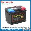 Batería de automóvil sin necesidad de mantenimiento estándar del AGM 12V55ah del estruendo Europa VRLA