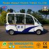 Миниая патрульная машина 4 мест низкоскоростная электрическая с высоким качеством