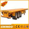 輸送容器のための平面半トラックのトレーラー