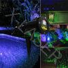Het openlucht Blauwe Bewegende Licht van Kerstmis van de Laser van de Tuin van de Glimworm Lichte