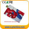 Lecteur flash USB polychrome de carte d'impression pour le cadeau de promotion