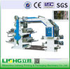 La Chine à grande vitesse Ytb-41000 BOPP Film Flexo Impression d'usine de la machine