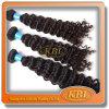 5AブラジルのCurly Weaveの100%の人間Hair
