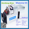Whatsminer M3 Asic bricht Bergmann Hashrate 12th/S für Bitcoin Bergbau ab