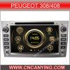 Reproductor de DVD especial de Car para Peugeot 308/408 con el GPS, Bluetooth. (CY-7103)