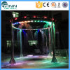 Водопад цифров фонтана занавеса воды украшения с цветастым освещением