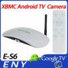 Es6 verdoppeln Kern Bluetooth 5.0MP Kamera Xbmc androide Fernsehapparat-Kasten-Kamera