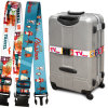 Courroie polychrome du bagage Belt/Suitcase d'impression du bagage Strap/Sublimation d'impression de transfert thermique