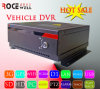 Coche video DVR móvil (RC-8004H3C-T) de la seguridad del tiempo real H. 264 sin hilos alejados de la tarjeta 3G GPS WiFi de HDD SD