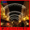 Luces de Navidad decoración al aire libre cruzada del LED calle Perfiles de edificios