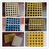 Suministro de la fábrica de fibra de vidrio de alta resistencia GRP Molde FRP rejilla de plástico reforzado con fibra