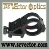 Laser Flashlight Offset Weaver Picatinny Mount Ring di Optics Tactical 30mm di vettore