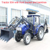 Tractor 50HP met Front Loader en Backhoe