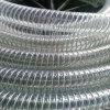 Boyau spiralé de fil d'acier de PVC de pression inoxidable flexible
