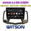 Grand écran 10,2 Witson Android 6.0 DVD de voiture pour Nissan Teana 2009