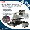 De halfautomatische Vlakke Machine van de Etikettering voor Kaarten (MT-60)