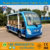 Venda por grosso de 14 lugares turísticos eléctrico fora de estrada carro para Informação Turística