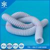 Extension/conduit d'air de PVC d'épreuve incendie de l'Europe/boyau noirs et blancs flexibles