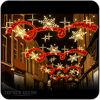 Het openlucht LEIDENE van de Decoratie van Kerstmis Licht van het Motief