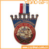Custom покрытие золотую медаль на сувениры
