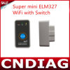 2013 super Mini Elm327 WiFi met Switch Work met iPhone OBD-II OBD Can Code Reader Tool