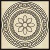 베이지색 & 브라운 패턴 (CVP-032)