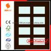 2014 het Hete Binnenlandse Glas die van de Verkoop Houten Deur met Certificaat glijden