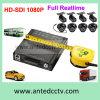 Alta qualidade 4/8 de sistema de gravação móvel da câmera HD DVR para todos os tipos de caminhões dos carros dos veículos