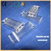 Dreiergruppen-Ausbohrungs-Quarz-Fluss-Gefäß - Polier - Stromstille-Gefäße benötigt