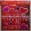 Горячий стикер геля окна Valentine TPR сбывания