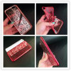 Divers cas personnalisé de téléphone cellulaire du placage TPU de configuration pour l'iPhone 7