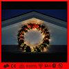 Heet China verkoopt de Mooie In het groot Kunstmatige Kronen van Kerstmis