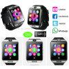 Téléphone intelligent de vente chaud de montre de Bluetooth avec l'appareil-photo Q18