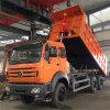 Beiben Nordkipper-LKW des benz-380HP 6X4