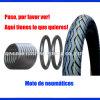 Pneu e pneus da motocicleta, acessórios de carro 110 / 90-16, 110 / 90-17