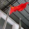 360 градусов поворачивая ручной эксплуатируемый флаг Поляк нержавеющей стали конический