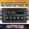 Tela de Toque do Windows Witson aluguer de DVD para Chevrolet Lova Epica Captiva