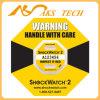 Датчики и индикатор удара Shockwatch2 для товаров перевозкы груза чувствительных