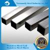 AISI 304 Edelstahl geschweißtes quadratisches Rohr/Gefäß für Geländerdocken