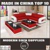 Populärer moderner Hotel-Sofa-Möbel-Leder-Deckel