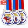 カラーエナメルが付いている高品質の昇進のカスタムメダル