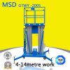 Tabella di elevatore idraulico dell'elevatore della piattaforma dell'elevatore della lega di alluminio della piattaforma di funzionamento di elevata altitudine Gtwy4 6/8/10/12-200s