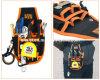 ハードウェアの電気技術者のスクリュードライバーのキャリアのオルガナイザーのホールダーのウエストベルトの道具袋