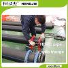 Tubulação do HDPE com flange