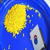 Cor amarela recicl /Rubber plástica ambiental Masterbatch dos ABS PP/PE