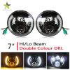 linternas redondas del halo alto-bajo LED de la viga de 7inch 50W 30W para el Hummer H2