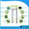 Detector de metales del marco de puerta de pantalla del LCD de 7.0 pulgadas con 24 zonas para la batería, prisión